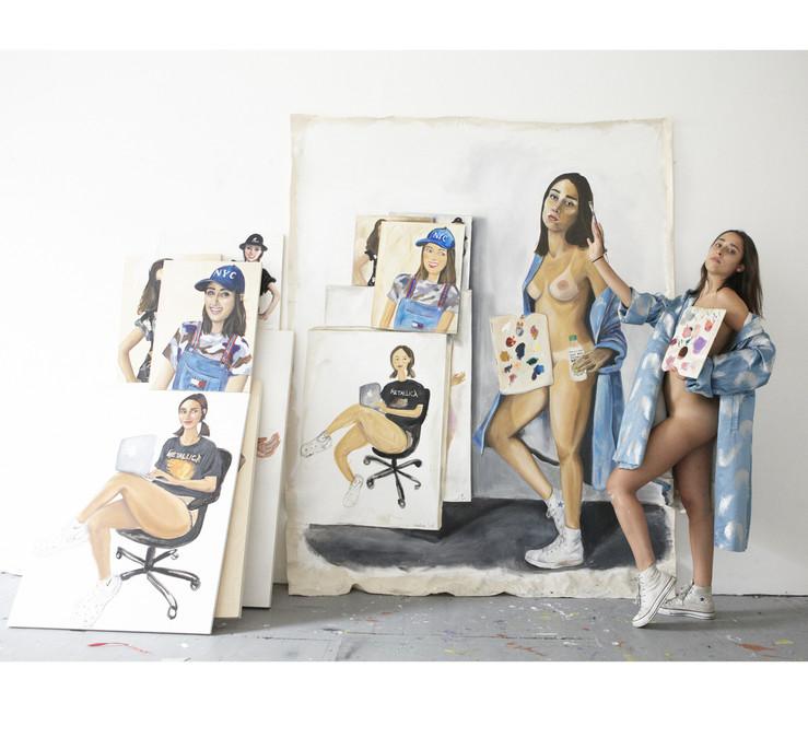 Chloe wise artiste galerie almine rech exposition sculpture peinture art 12 1 large2