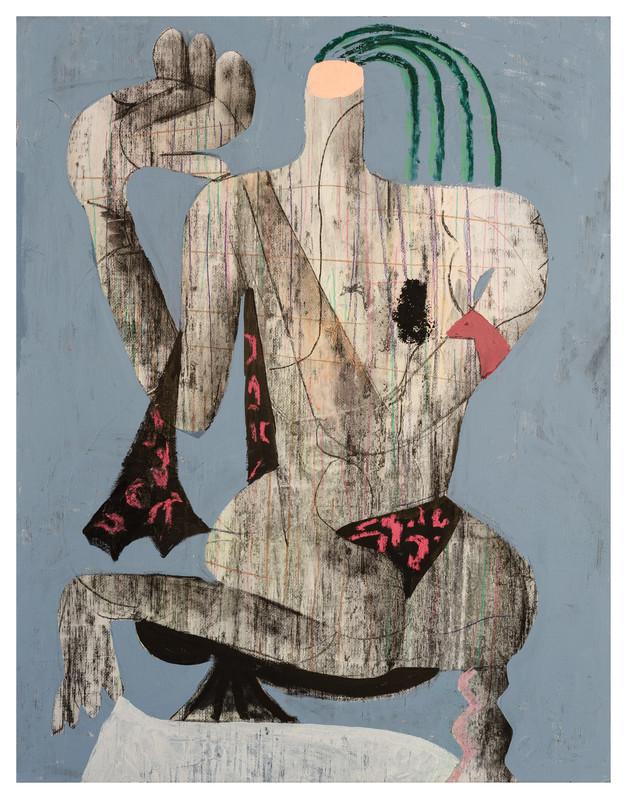 József Csató, Kiss of the leopard - Galerie Semiose