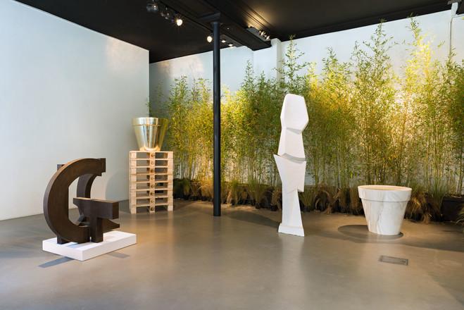 Jardin de Sculptures - Galerie Dutko Ile St. Louis