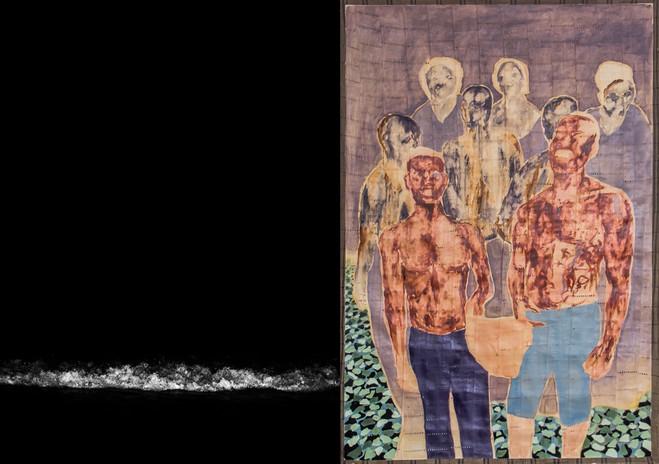 Karim Kal, Nengi Omuku - La Galerie, centre d'art contemporain