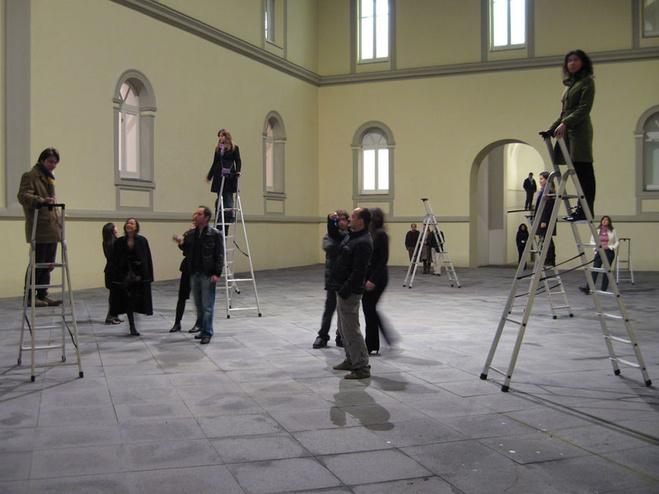 Vue d'exposition, Musée MADRE, Naples, Italie