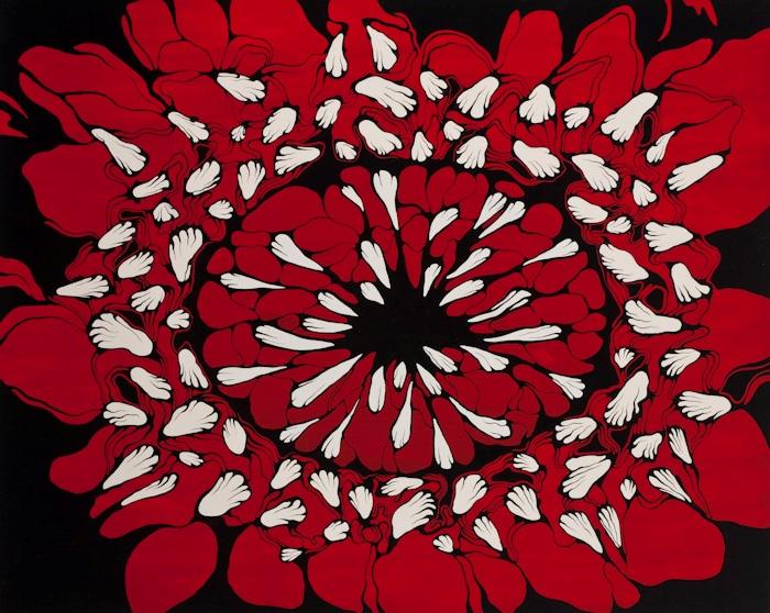Mail   k92000   sans titre 120 x 150 cm huile et acrylique sur toile   m. schultz original original