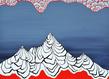Mail   k92005   loin langt v k 90 x 70 cm huile et acrylique sur toile   m. schultz original grid