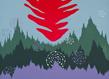 Mail   k92004   ciel rouge r d himmel 120 x 100 cm huile et acrylique sur toile 2009   m. schultz original grid