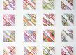 Com   tangram suite d tude 01 16   huile acrylique papier toile   16 ex. 30 5 x 30 5 cm   2010 mub original grid