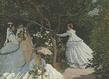Femmes au jardin original grid