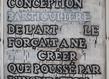 Artus lieu commun ii 2010 200x130cm noir   tableau et gesso sur bois grid