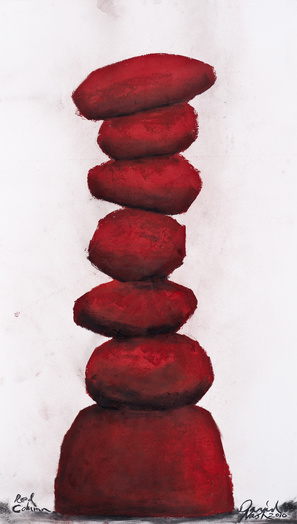 W15895 red column bd medium