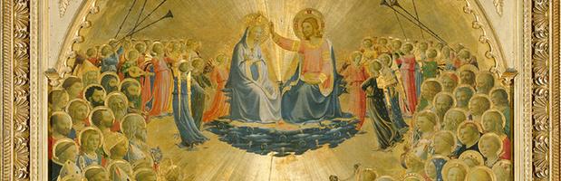 Fra angelico  le couronnement  de la vierge  cr dit d medium