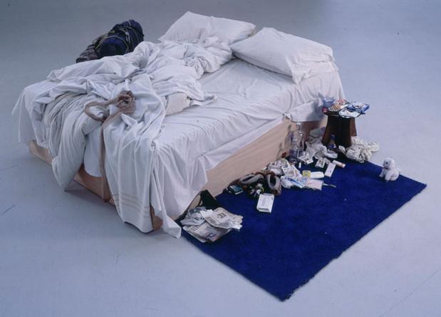 Tracey emin my bed medium