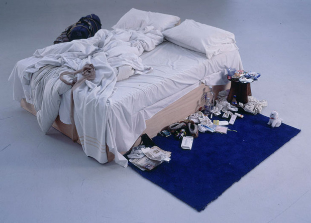 Tracey emin my bed medium