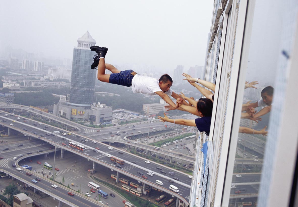 29 tages pour la libert   29 levels of freedom   p kin 2003 li wei original