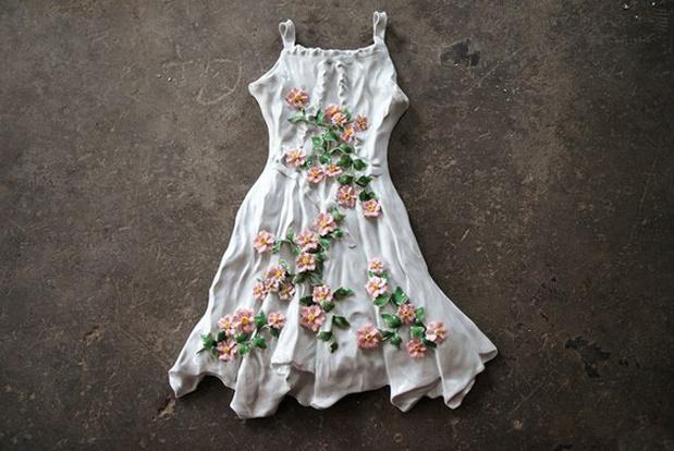 Ai wei6695 flower dress white 1ae2c89f26 medium