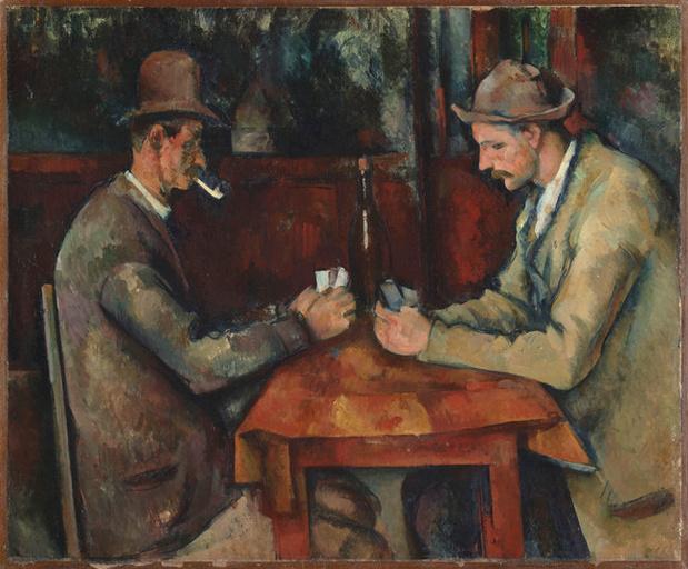 Une aquarelle de Cézanne retrouvée