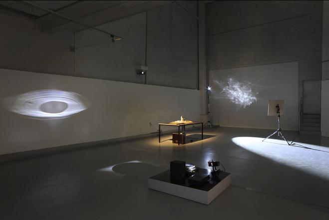 Vue de l'exposition au FRAC Centre