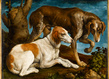 Hdbassano deux chiens de chasse original original grid