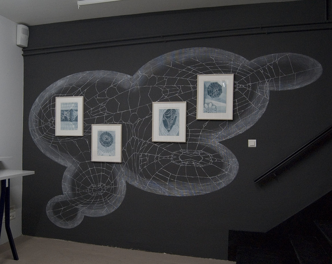 Vue de l'exposition PULP Motoko Dobashi