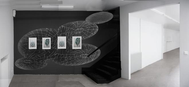 Vue de l'exposition Pulp — Motoko Dobashi