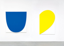 Ellsworth Kelly à la galerie Marian Goodman