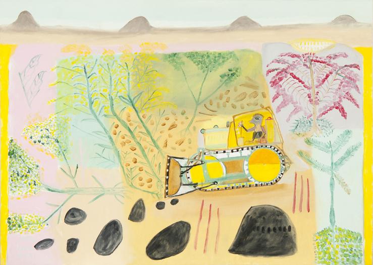 Neves Torres, sans titre, 2011, huile sur toile