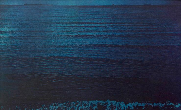Sophie Calle, Voir la mer, 2011 (Détail) 14 films, couleur, son, photographies—Directrice de la photographie : Caroline Champetier