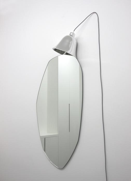 Lampe miroir