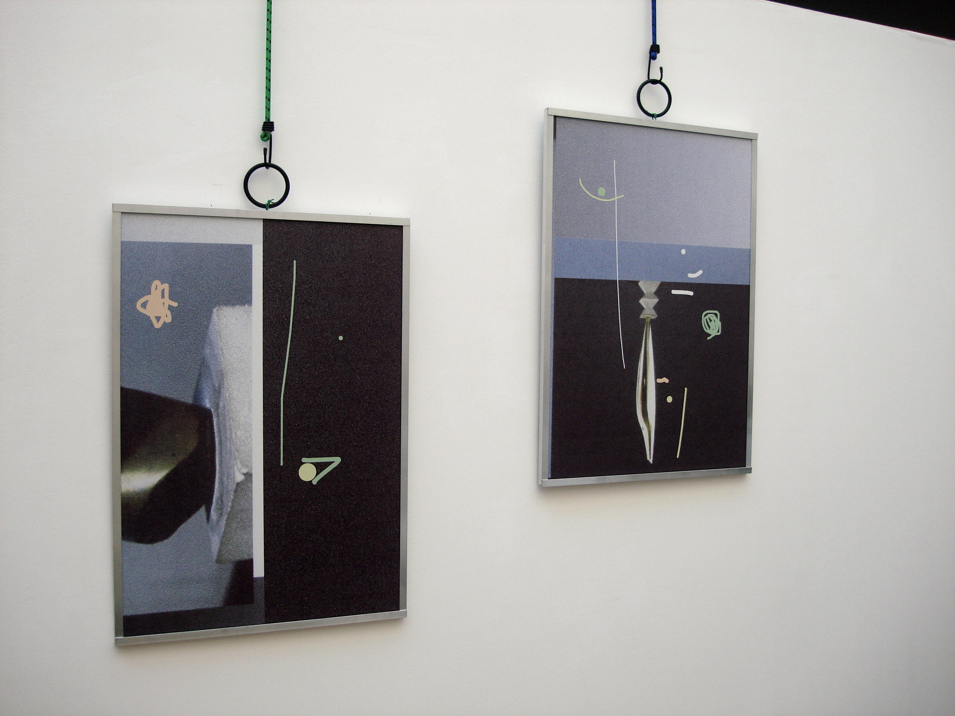 Easy living less is more projects works by james clarkson birds motif  2012 and pogany muse motif  2012 original