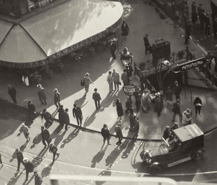 Marianne Breslauer, La Rotonde, 1930 (Détail)