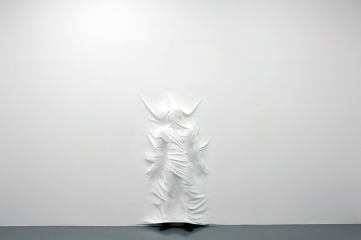 Daniel Arsham, Hiding Figure, 2012