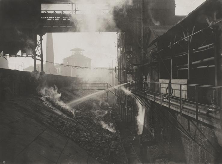 Felix Thiollier, Mine de charbon à Saint-Etienne dit aussi Usine à Saint-Etienne, entre 1890 et 1900