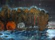 La nuit americaine ii 42 x 72 cm aquarelle gouache et acrylique   2012   p.neuchs grid