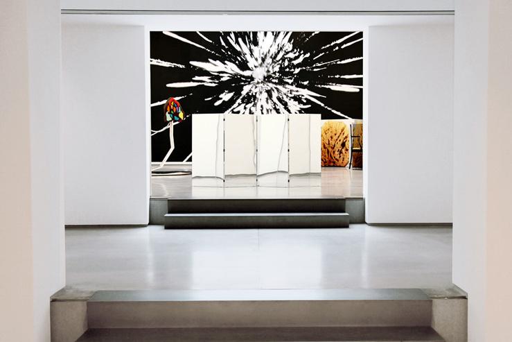 Vue de l'exposition «Seuls quelques fragments de nous toucheront quelques fragments d'autrui»