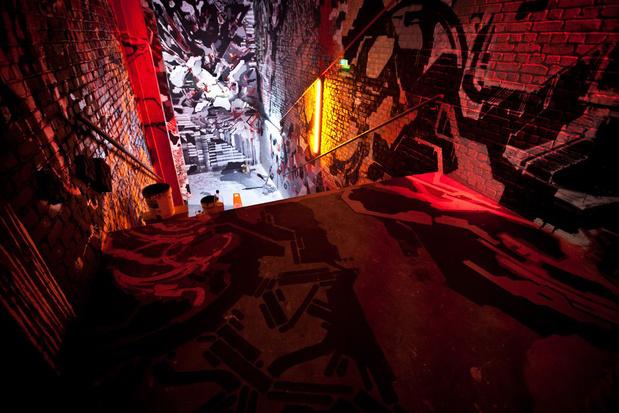 Entretien —Dans les entrailles du Palais secret