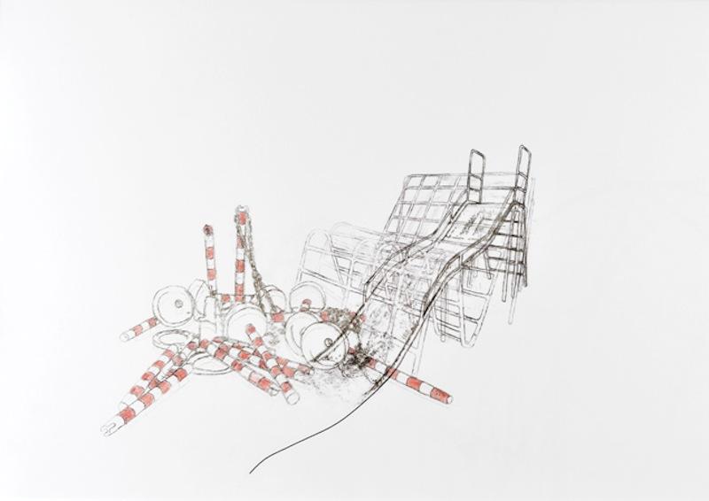 2.3. c. melin sans titre 2011 technique mixte sur papier 42 x 59 4 cm original original