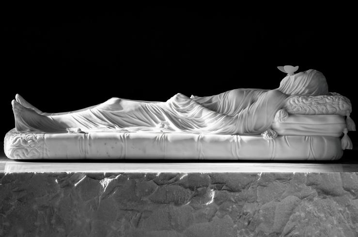 Jan Fabre, Gisant (Hommage à E.C.Crosby), 2012