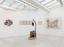 Exquisite Corpse à la galerie Georges-Philippe & Nathalie Vallois