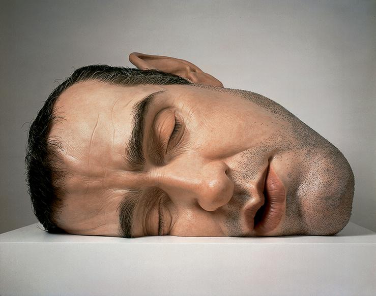 Ron Mueck, Mask II, 2001