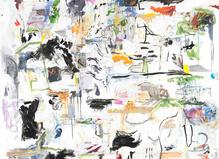 Guillaume Lebelle à la galerie Christophe Gaillard