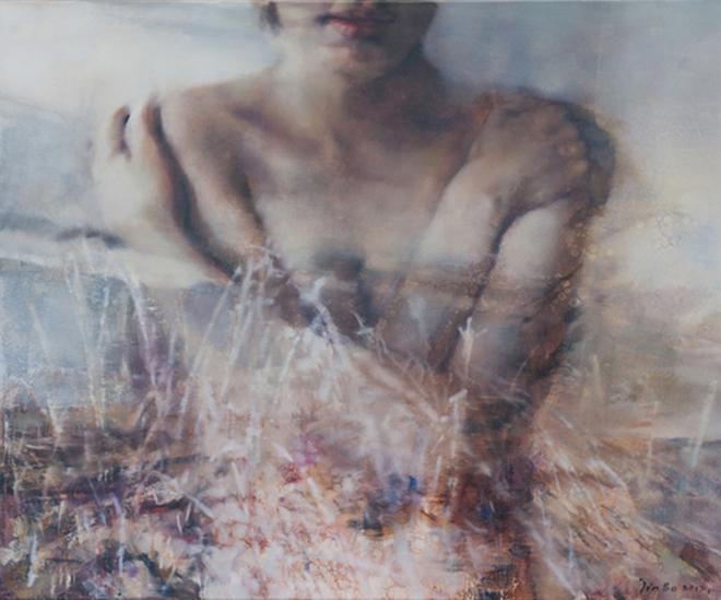 Untitled 65x54cm   huile sur toile original original