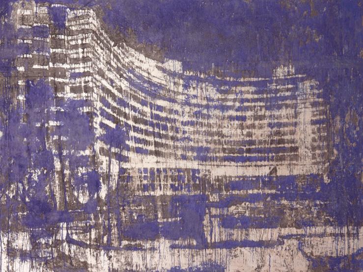 Enoc Perez, Fontainebleau, Miami, 2013—Huile sur toile — 152,4 × 203,2 cm