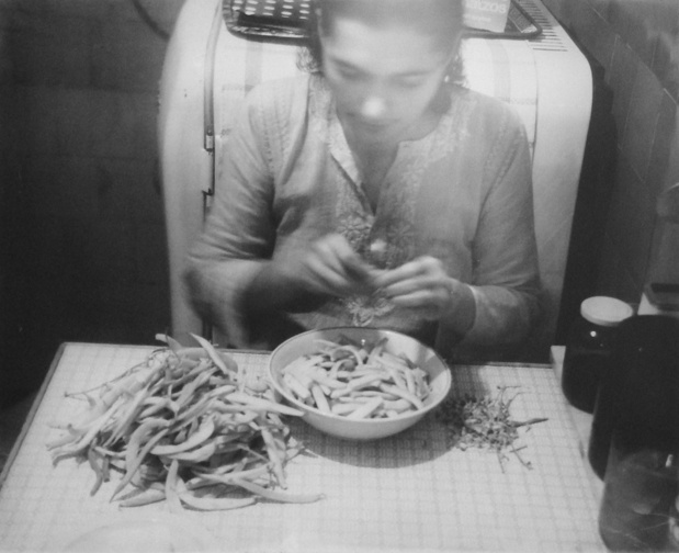 Ion grigorescu cutting beans medium