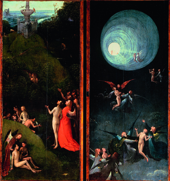 Bosch le paradis terrestre et la mont e des bienheureux medium