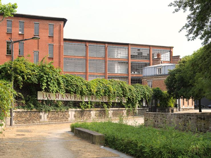 Vue du Crédac à la Manufacture des Œillets, Ivry-sur-Seine