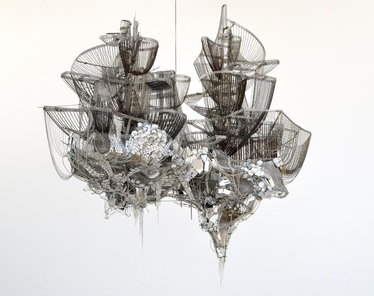 Lee Bul, Misremembered Lines, 2011—141 x 180 x 140 cm