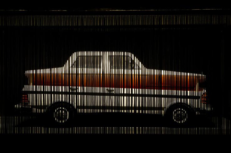 Vue de l'exposition «Théâtre du Monde» à la maison rouge, 2013