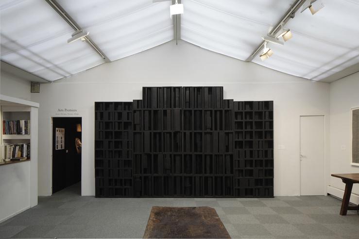Louise Nevelson, Shadow and Reflection I, 1966 (vue de l'exposition «Matière et Mémoire» au 53 rue de Seine)