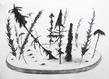 Mezcla. charcoal on paper. 75.50cm x 106cm grid
