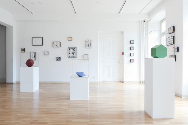 Vue de l'exposition «Sans filet», Musée des beaux-Arts, Mulhouse, 2012
