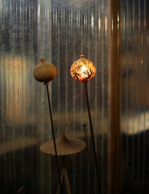 Cite de larchitecture et du patrimoine haut bois damour nicolas cesbron lampes fleurs de morphee medium