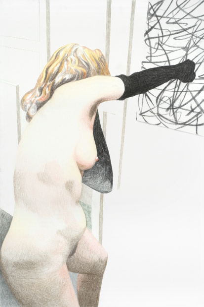 Galerie de roussan sleepwalking agnes thurnauer autoportrait medium